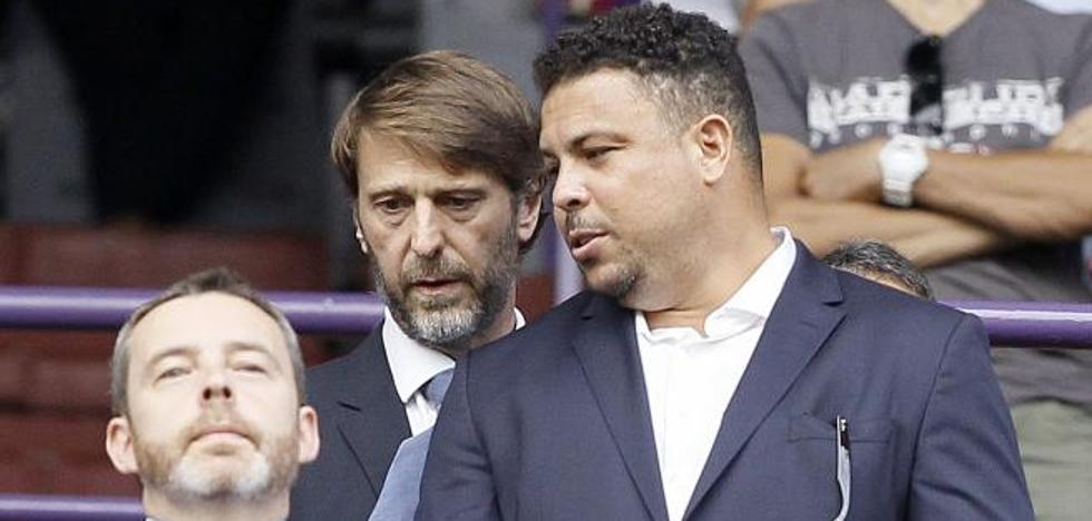 Ronaldo rubrica la condición de propietario en su primera junta de accionistas