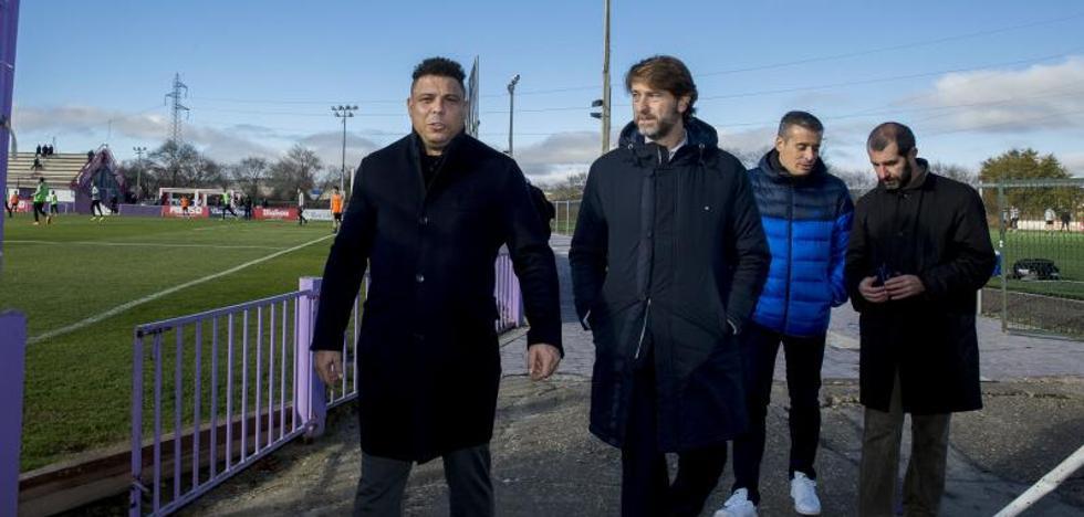Ronaldo reduce a tres miembros el consejo de administración del Real Valladolid