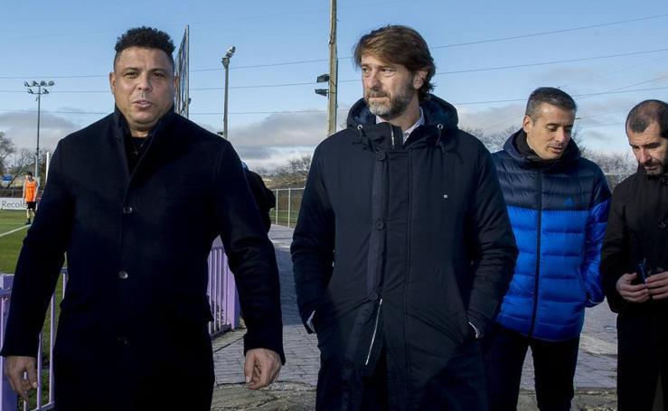 Ronaldo acude a la Junta de Accionistas del Real Valladolid