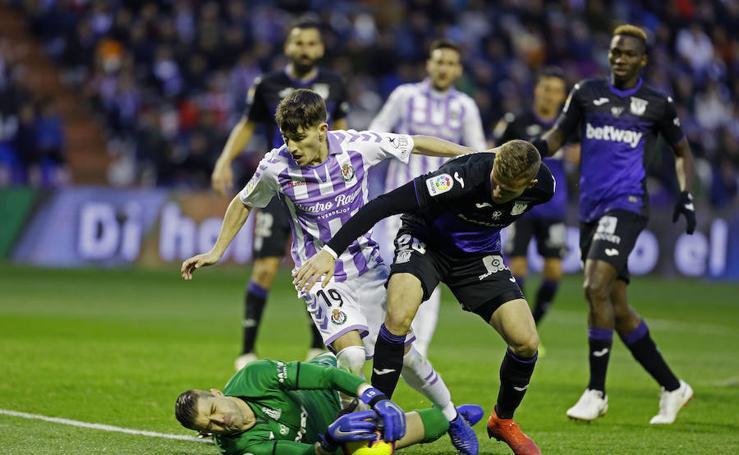 Real Valladolid 2 - 4 Leganés