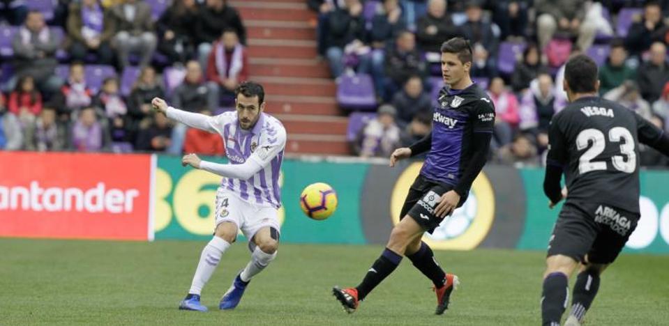 El Real Valladolid se deshace ante el Leganés y enciende las alarmas