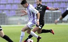 Un triplete de Yuri envía al Real Valladolid B al puesto de promoción de descenso