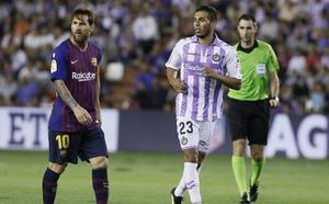 Los jugadores menos utilizados en el Real Valladolid aguardan su turno