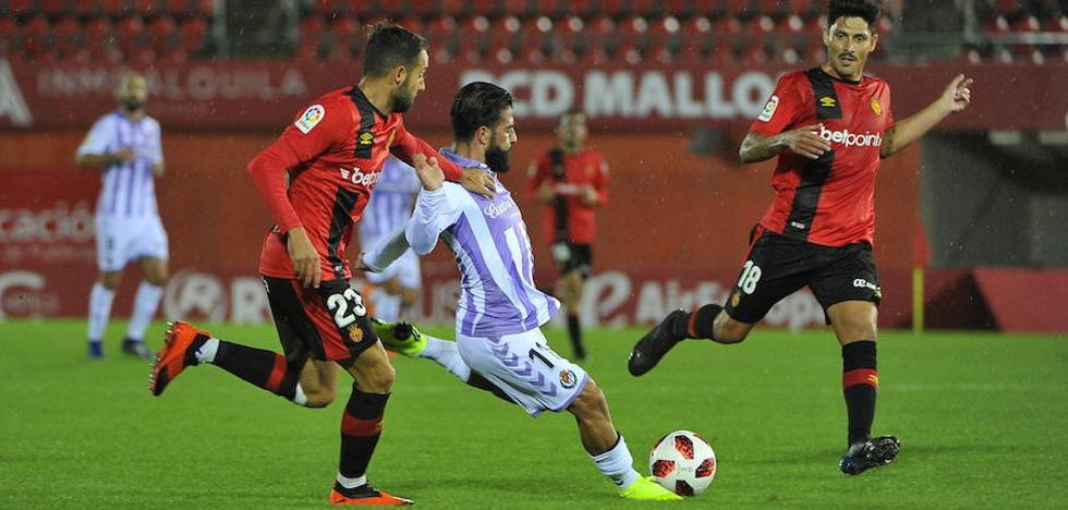 El Pucela busca ante el Mallorca los octavos de final de Copa, diez años después