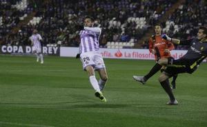 El Real Valladolid, en octavos de Copa después de eliminar al Mallorca