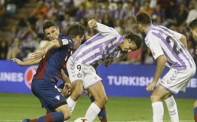 Quizá el problema con el gol del Real Valladolid no sean los delanteros