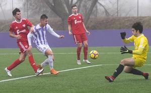 El Juvenil del Real Valladolid se deshace en media hora del Canillas (2-0)