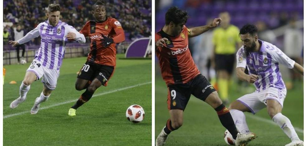 Las bandas, un valor seguro en el Real Valladolid