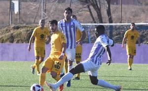 El Valladolid B gana y respira a costa del Burgos