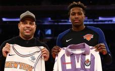 Ronaldo y el Real Valladolid, protagonistas en el Madison Square Garden de Nueva York