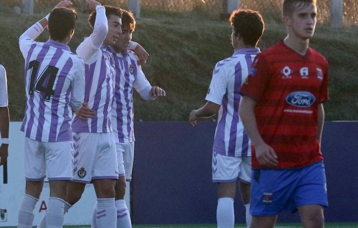 El Real Valladolid Juvenil estira su buen momento ante el Diocesano (4-1)