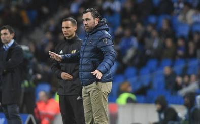 Sergio espera que llegue «otra fase bonita de la liga» tras la victoria del Real Valladolid en Anoeta