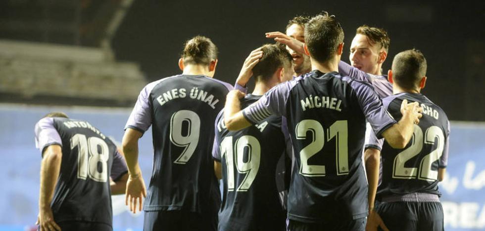 El Real Valladolid se lleva los tres puntos en Anoeta