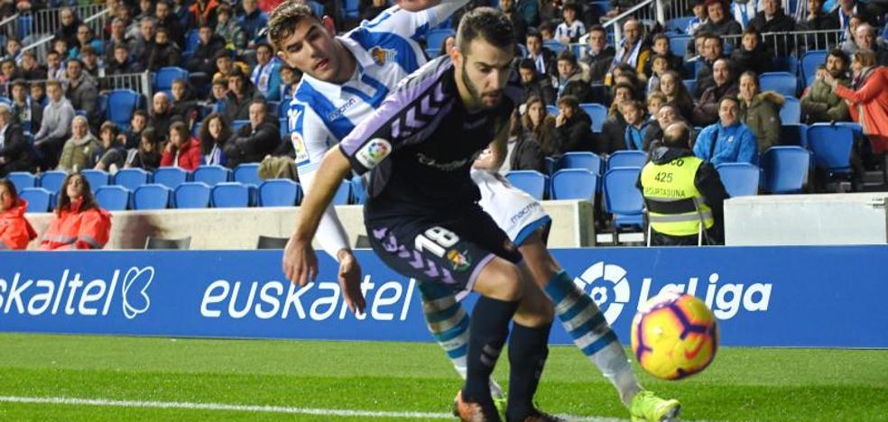 Antoñito describe su gol: «Usé la cadera como los toreros y tiré sin pensar; si lo pienso fallo»