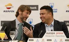 Ronaldo Nazário y Carlos Suárez presentan en Madrid el proyecto de expansión del Real Valladolid
