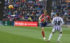 En directo, el Real Valladolid - Atlético de Madrid
