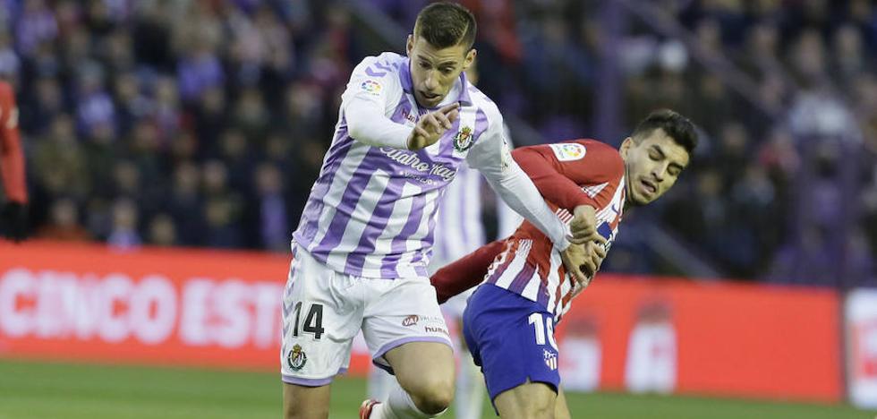 La valoración de los jugadores del Real Valladolid tras la derrota ante el Atlético de Madrid