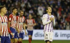 El Atleti ganó al Real Valladolid con su misma medicina: sin posesión