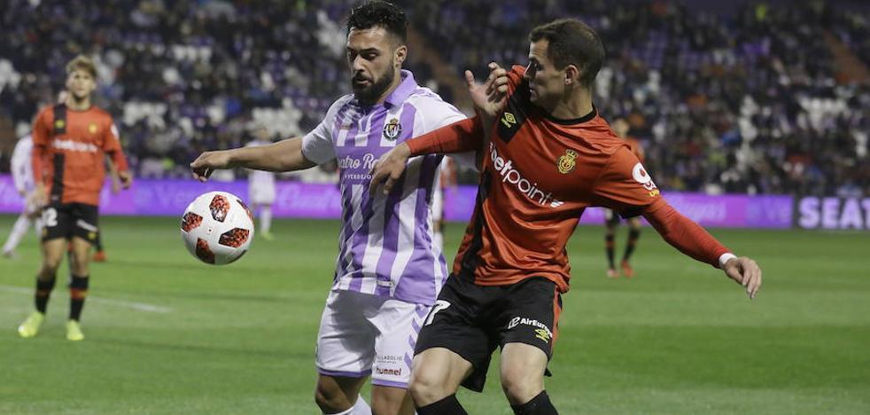 Ivi sufre su tercera lesión muscular desde que llegó al Real Valladolid