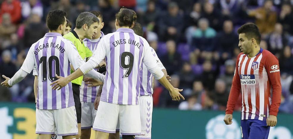 Al Real Valladolid no le ha traído nada bueno la llegada del VAR