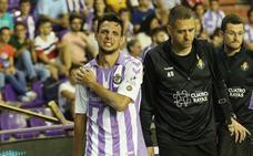 Los titulares del Real Valladolid, los menos afectados por las lesiones