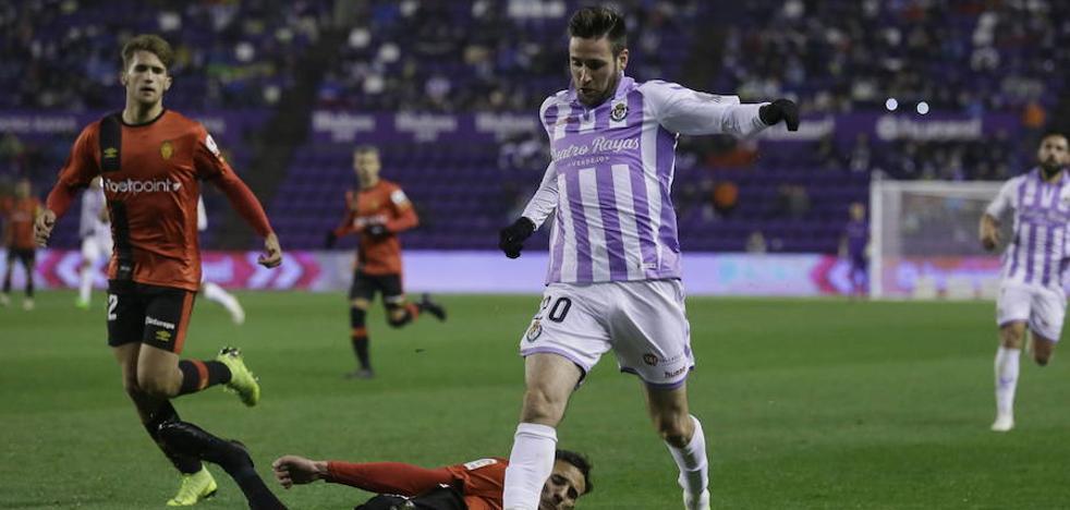 El Real Valladolid vuelve a entrenar sin Duje Cop, de nuevo con fiebre