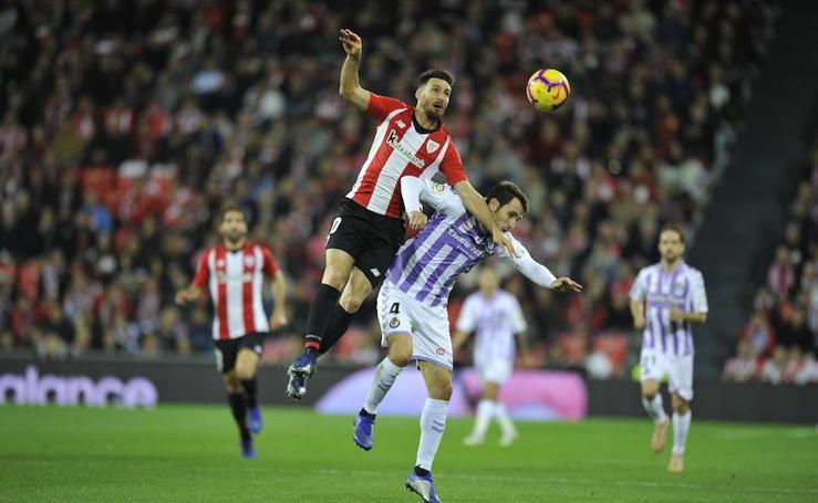 Todas las fotos del Real Valladolid 1 - 1 Athletic