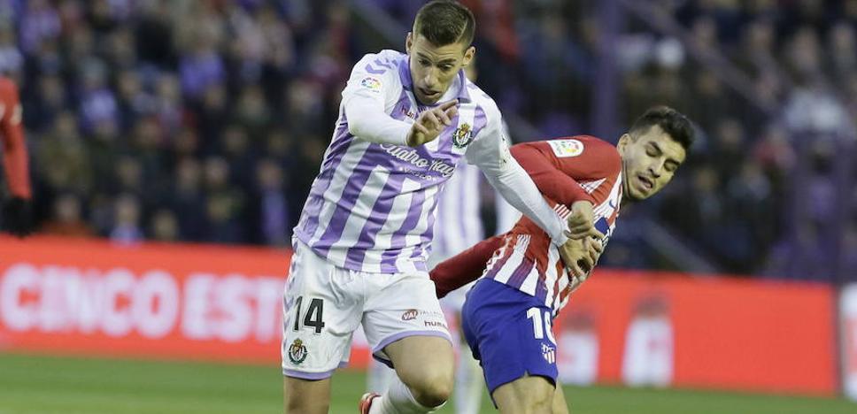 El Real Valladolid vuelve a los entrenamientos con Alcaraz e Ivi ejercitándose al margen
