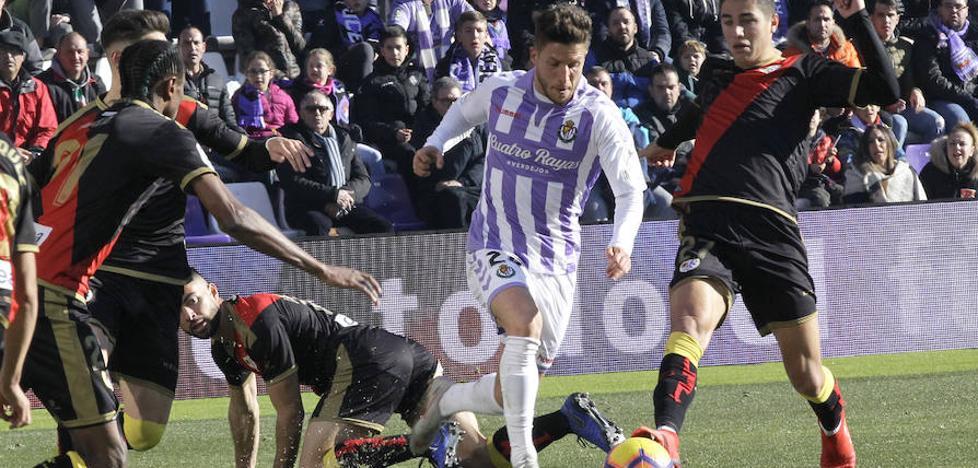 La actuación de los jugadores del Real Valladolid frente al Rayo; uno a uno