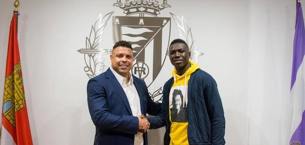 El ecuatoriano Stiven Plaza se incorporará esta semana a la disciplina del Real Valladolid