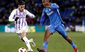 Un gol en el descuento derrota al Real Valladolid en la Copa del Rey