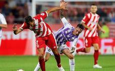 El balance de la primera vuelta del real Valladolid