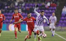 El Real Valladolid se despide de la Copa con dignidad