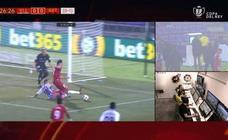 El Pucela cae en Copa con el VAR como protagonista