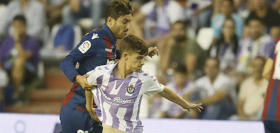 El Real Valladolid regresa a Valencia diezmado por las sanciones