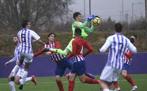 Los errores propios impiden al Real Valladolid Juvenil puntuar ante el Atlético
