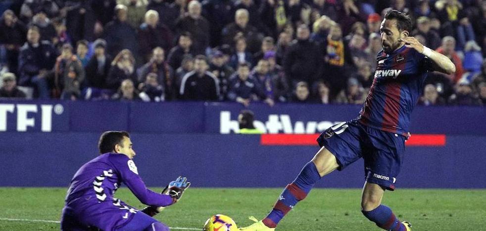 En vídeo: goles del Levante ante el Real Valladolid
