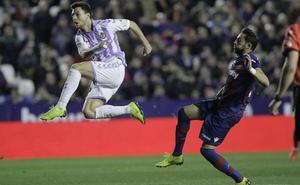Así fue la actuación de los jugadores del Real Valladolid ante el Levante