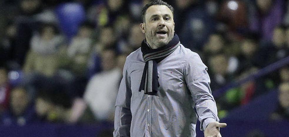 Sergio: «Parece que el Real Valladolid está molestando en esta liga»