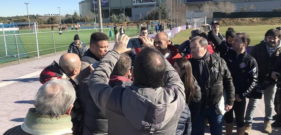 Ronaldo Nazário: «El VAR no es perfecto y no lo va a ser. Nosotros apoyamos y no nos quejamos»