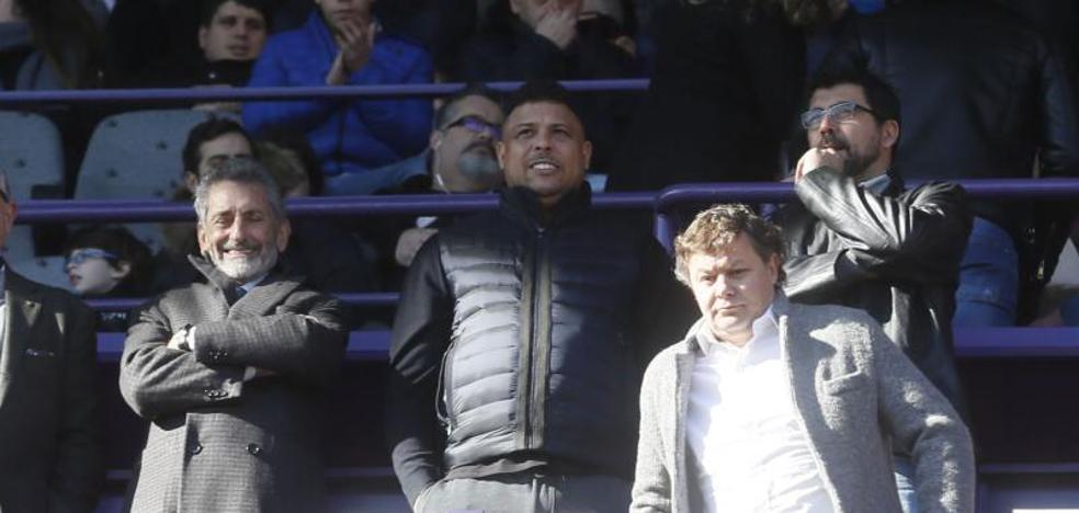 Ronaldo vuelve a sonreir en Valladolid
