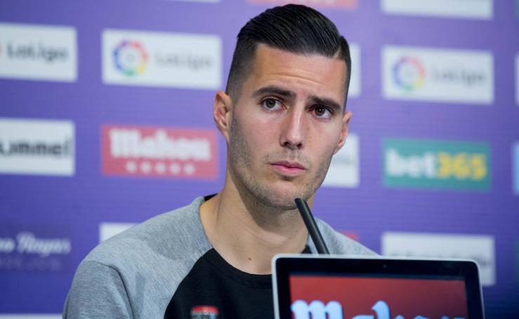 Presentación de Sergi Guardiola como nuevo jugador del Real Valladolid