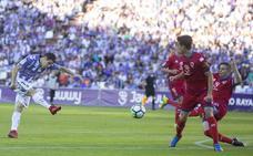 Hervías vuelve a una convocatoria del Real Valladolid siete meses y medio después