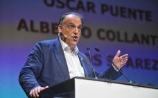 Tebas, la censura y la protesta del Real Valladolid