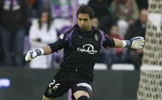 Asenjo debutó en Primera con el Real Valladolid ante el Villarreal