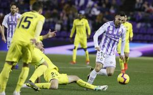 Dulce empate del Real Valladolid ante el Villarreal