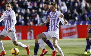 Calero, molesto por los rumores sobre su salida del Real Valladolid: «No tuve ninguna oferta»
