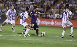 ¿Puede jugar el Real Valladolid con tres centrales?