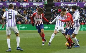 El Real Valladolid tiene los hombres necesarios para jugar con tres centrales