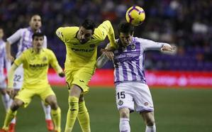 El Real Valladolid pierde a Pablo Hervías para enfrentarse al FC Barcelona